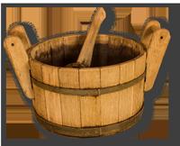 Ferienwohnung-Wutachtal-Sauna-bottich-schatten
